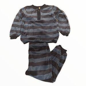 Petit Lem two piece Velour Pajamas 18M